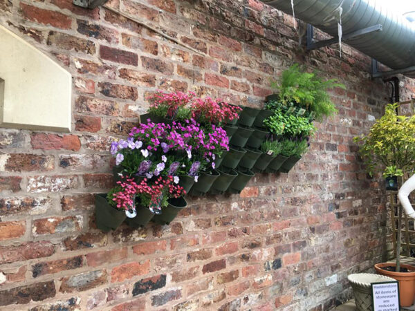 1 External Garden Wall Part Built