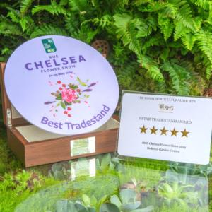 Chelsea Flower Show Best Tradestand Award