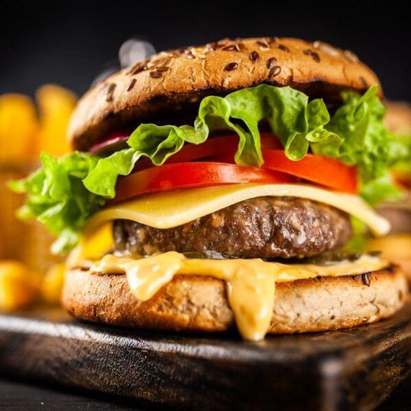 SeedCell Salad Ingredient on Burger